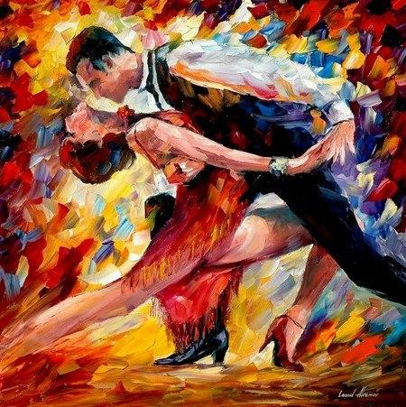Танец - развитие пары