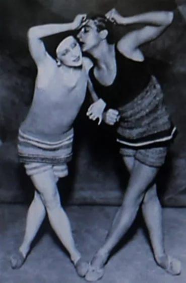Костюмы Коко Шанель для балета Голубой экспресс