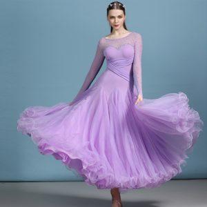 Платье стандарт лиловое