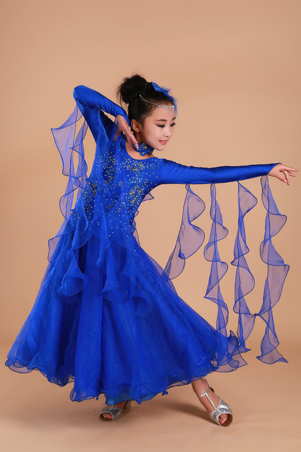 Платье стандарт синее