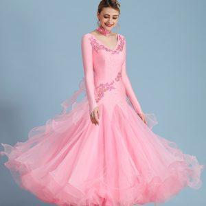 Платье стандарт розовое